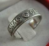 Серебряное Кольцо Камень Размер 17.25 Бесконечность Святая Варвара 925 проба Серебро 708