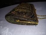 Клатч, расшитый бисером., фото №8