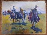 Картина Казаки. Копия, фото №2