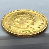 1/5 либры. 1906. Перу (золото 917, вес 1,61 г), фото №7