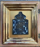 Икона Георгий Победоносец в киоте, фото №4