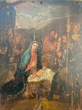 """Икона """"Рождество Христово"""", фото №3"""