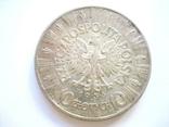 10 злотих 1936 рік, фото №2