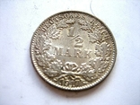 1/2 марки 1917 рік., фото №2