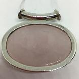 Подвес серебро кварц, фото №5