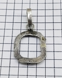 Кулон - подвеска серебро 800 проба, 2.60 грамм, фото №6