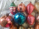 Новогодние игрушки на елку-17 штук (СССР), фото №4