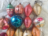 Новогодние игрушки на елку-17 штук (СССР), фото №5