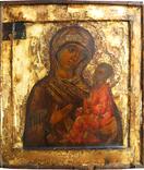 Богородица Тихвинская, XVIIв., фото №3