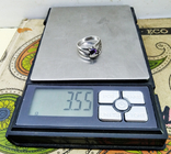 Кольцо Серебро 875. Аметист. 3.55 грамм. СССР., фото №7
