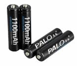 Аккумуляторы Palo ААА 1100 mAh 4 шт + футляр, фото №3