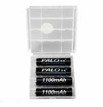 Аккумуляторы Palo ААА 1100 mAh 4 шт + футляр, фото №4
