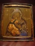 Богородица Владимирская, двухковчежная, рубеж XVII-XVIIIвв., фото №2