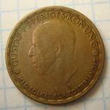 Швеция 1 крона, 1946, фото №5
