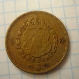 Швеция 1 крона, 1946, фото №8