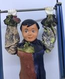 Механическая игрушка СССР клоун на перекладине, фото №5