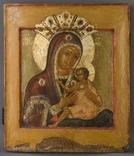 Богородица Овсепетая, двухковчежная, XVIIв, рубеж, фото №2