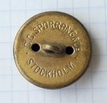 Пуговица, С.C.Sporrong Co Stockholm, фото №6