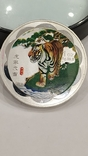 10 Юань 2010г. Год тигра в цвете. Китай. посеребрение., фото №3