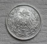 1/2 марки 1919 г. (F) Германия, серебро (№2), фото №7