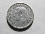 10 центов 1950 Канада, фото №2