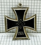 "Орден "" железный крест "" клеймо М. Реплика. свастика. 1813 - 1939, фото №4"