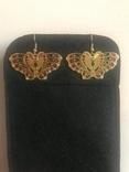 Серёжки Бабочки, фото №3