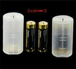 Переходники под батарейки 4 шт., фото №5