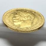 5 рублей. 1901. Николай II. (ФЗ) (золото 900, вес 4,30 г), фото №8
