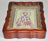 100 разных икон церковных праздников и святых + аналойный киот, фото №4