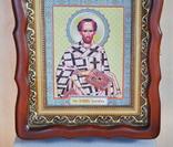 100 разных икон церковных праздников и святых + аналойный киот, фото №6