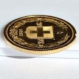 20 франков. 1883. Гельветика. Швейцария (золото 900, вес 6,46 г), фото №8