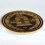 20 франков. 1883. Гельветика. Швейцария (золото 900, вес 6,46 г), фото №9