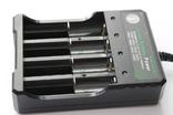 Универсальное зарядное устройство для 4-х аккумуляторов 3.7В 18650 16340 14500 и других, фото №3