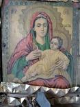 Икона Божией матери (на реставрацию), фото №4