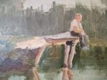 Картина маслом неизвестного художника, фото №6