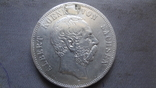 5 марок 1895 Саксония серебро (Ж.3.9)~, фото №2