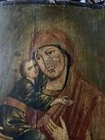 Икона Матерь Божья с сыном, фото №8