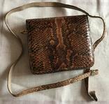 Винтажная сумочка из питона, ручная работа., фото №2
