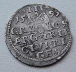 Трояк Рига 1595, фото №4