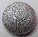 10 злот Ядвига 1933, фото №6