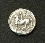 Тетрадрахма Филиппа II Македонского (копия), фото №3