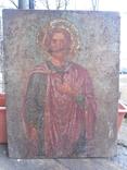 Икона на металле Святой мученик Диомид, фото №2