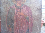 Икона на металле Святой мученик Диомид, фото №4