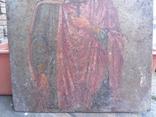 Икона на металле Святой мученик Диомид, фото №5