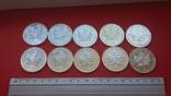 5 2006 - 2007 (унция 999,9) 10 штук, фото №8