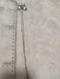 Кулон,цепочка,серебро,винтаж,Италия., фото №6