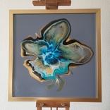 Картина живопис абстракція Fluid Art #32 acrylic, фото №4