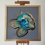 Картина живопис абстракція Fluid Art #32 acrylic, фото №6