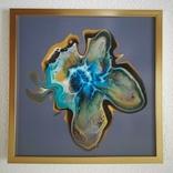 Картина живопис абстракція Fluid Art #32 acrylic, фото №8